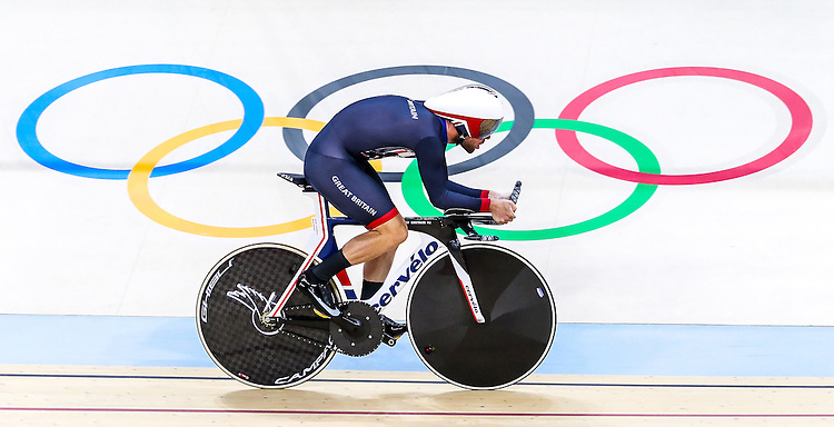 Picture by Alex Whitehead/SWpix.com - 09/08/2016 - 2016 Rio Olympic Games - Track Cycling - Olympic Velodrome, Rio de Janeiro, Brazil - Great Britain's Mark Cavendish in action during a practice session.