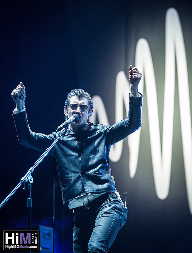 Arctic Monkeys performs at the 2014 Voodoo Music Experience.