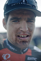 111th Paris-Roubaix 2013..post-race face by Greg Van Avermaet (BEL).