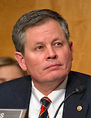 United States Senator Steve Daines (Republican of Montana) at the US Senate Committee on Homeland Security and Governmental Affairs hearing on the nomination of General John F. Kelly, USMC (Retired), to be Secretary, US Department of Homeland Security on Capitol Hill in Washington, DC on Tuesday, January 10, 2017.<br /> Credit: Ron Sachs / CNP