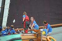 ZEILEN: IFKS skûtsjesilen 2013: Skûtsje De Yde, ©foto Martin de Jong