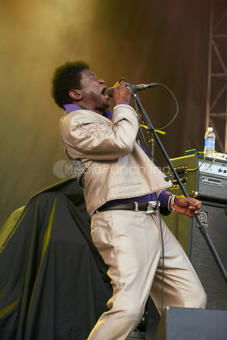AUSTIN, TX MARCH 19: Charles Bradley & his Extrordinaires perform at Auditorium Shores during the South by Southwest music festival on March 19, 2015 in Austin, Texas. Credit: Tony Nelson/Mediapunch Inc.