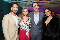 LOS ANGELES, CA - FEBRUARY 6:  Mark-Paul Gosselaar, Brianne Howey, Charlie Collier and Emmanuelle Chriqui attend the FOX Winter TCA 2019 All Star Party at The Fig House on February 6, 2019 in Los Angeles, California. (Photo by Scott Kirkland/Fox/PictureGroup)