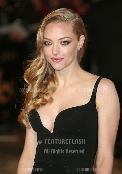 Amanda Seyfried arriving at the World Premiere of 'Les Miserables' held at the Odeon & Empire Leicester Square, London. 05/12/2012 Picture by: Henry Harris / Featureflash