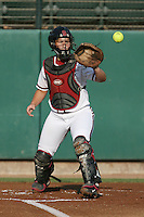 25 October 2007: Stanford Cardinal Rosey Neill during Stanford's 5-4 loss in seven innings against the San Jose State Spartans at Boyd & Jill Smith Family Stadium in Stanford, CA.