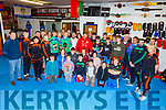 Presentation at the St Margret's Boxing Club Tralee on Sunday to Kori Goad (Abbeyfeale) and Barry O'Connor (Killorglin) for their success at the resent European Junior Boxing Championships in Russia.