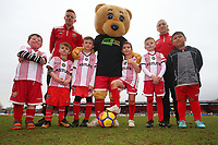 Stevenage mascots during Stevenage vs Crewe Alexandra, Sky Bet EFL League 2 Football at the Lamex Stadium on 10th March 2018
