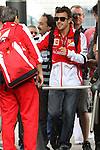 11.05.2013 Barcelona. Formula 1. Spanish Grand Prix. Picture show Ferrari driver Fernando Alonso entrance at Circuit de Catalunya
