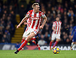 Darren Fletcher of Stoke City during the premier league match at Stamford Bridge Stadium, London. Picture date 30th December 2017. Picture credit should read: Robin Parker/Sportimage