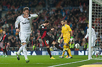 Sergio Ramos headed goal celebration