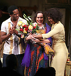 Blair Underwood, Director Emily Mann, Nicole Ari Parker.during the Broadway Opening Night Curtain Call for 'A Streetcar Named Desire' on 4/22/2012 at the Broadhurst Theatre in New York City.