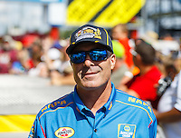 Sep 18, 2016; Concord, NC, USA; NHRA funny car driver Ron Capps during the Carolina Nationals at zMax Dragway. Mandatory Credit: Mark J. Rebilas-USA TODAY Sports