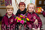At the Moyderwell Primary School Grandparents Day on Thursday were Luke Pullen, Cathy Stack and Taylor Stack Shannan