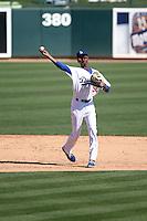 Brendon Davis - Los Angeles Dodgers 2016 spring training (Bill Mitchell)