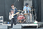 NATHAN WILLIAMS of the American rock band Wavves performs during the summer X-Games at the Circuit of the Americas race track in Austin, Texas.