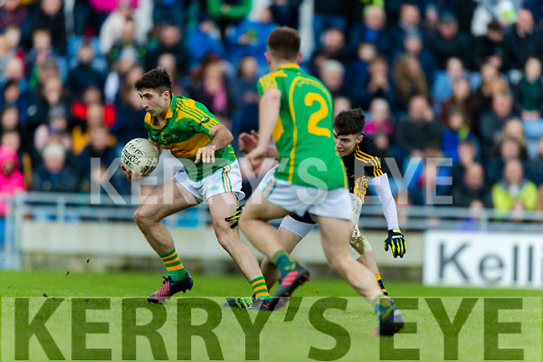 Dr Crokes in action against Paul O'Sullivan South Kerry in the Senior County Football Final in Austin Stack Park on Sunday