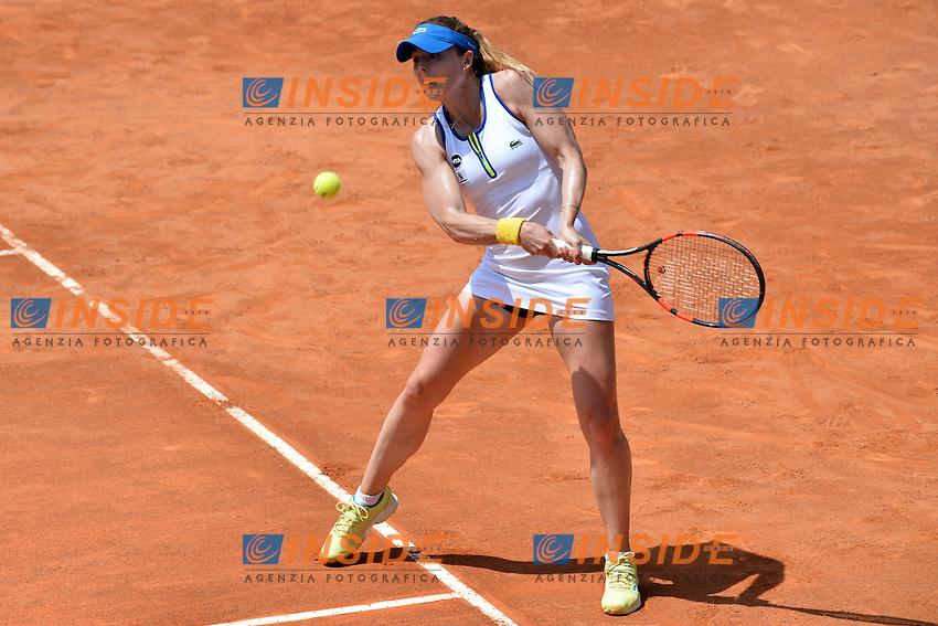 Alize Cornet (FRA)<br /> Roma 9-05-2016  Foro Italico<br /> Internazionali BNL d'Italia, <br /> Tennis WTA<br /> Foto Antonietta Baldassarre / Insidefoto