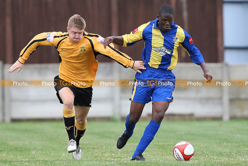 Abe Seymour in action for Romford - Romford vs Cheshunt - Ryman League Division One North Football at Mill Field, Aveley FC - 21/08/10 - MANDATORY CREDIT: TGSPHOTO - SELF-BILLING APPLIES WHERE APPROPRIATE. NO UNPAID USE. TEL: 0845 094 6026