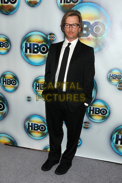David Spade.HBO 2012 Golden Globe Awards Post Party held at Circa 55 Restaurant, Beverly Hills, California, USA..January 15th, 2012.full length suit hands in pockets black white glasses facial hair goatee tie white.CAP/ADM/BP.©Byron Purvis/AdMedia/Capital Pictures.