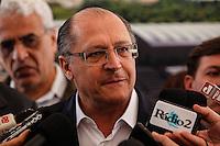 SAO PAULO, SP, 18 JULHO 2012 - VISTORIA OBRAS DO METRO E MONOTRILHO - Governador Geraldo Alckmin durante vistoria de inspeção as obras da futura Estacao e Patio Oratorio da Linha 2- Verde, Monotrilho, do Metro na regiao sudeste da capital paulista. FOTO: VANESSA CARVALHO - BRAZIL PHOTO PRESS.