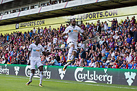Swansea City's Jordan Ayew celebrates scoring his sides second goal      <br /> <br /> <br /> Photographer Craig Mercer/CameraSport<br /> <br /> The Premier League - Crystal Palace v Swansea City - Saturday 26th August 2017 - Selhurst Park - London<br /> <br /> World Copyright &copy; 2017 CameraSport. All rights reserved. 43 Linden Ave. Countesthorpe. Leicester. England. LE8 5PG - Tel: +44 (0) 116 277 4147 - admin@camerasport.com - www.camerasport.com