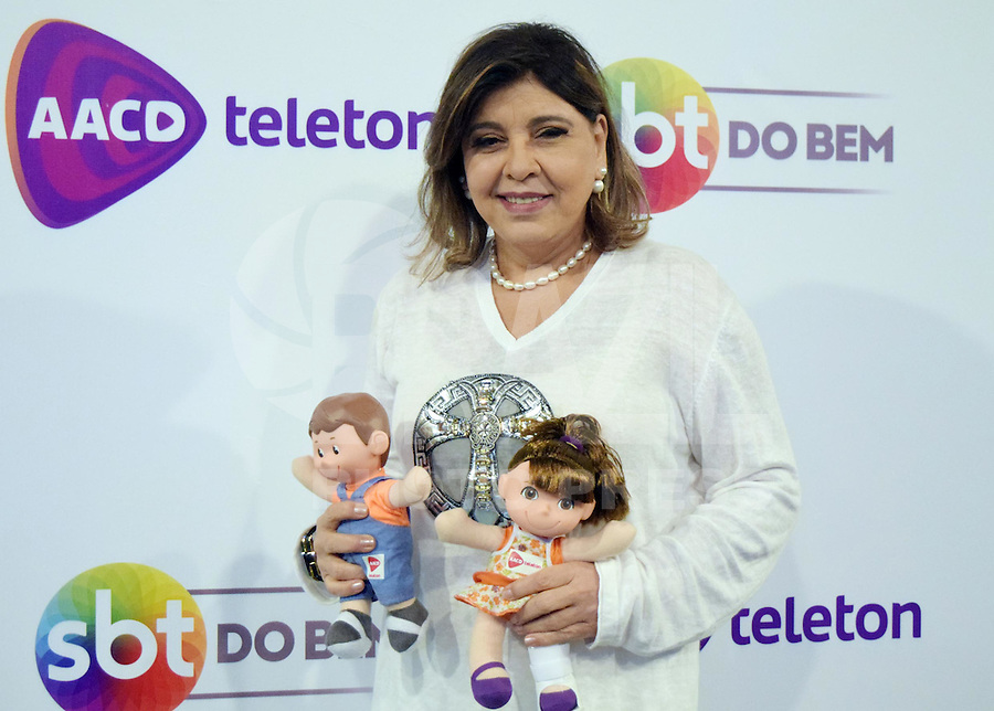 OSASCO,SP 24.10.2015 - TELETON-SP - Roberta Miranda, durante o Teleton 2015 realizado no Estudio 2 do SBT, na noite desse sábado,24  (Foto: Eduardo Carmim / Brazil Photo Press)