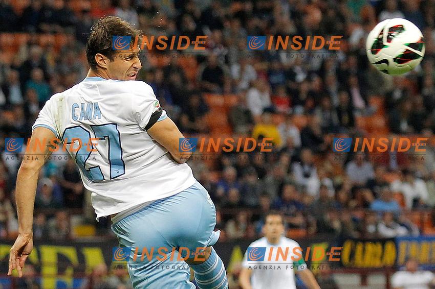 """Lorik Cana Lazio, Milano 8/5/2013 .Stadio """"S.Siro"""".Football Calcio 2012/2013 Serie A.Inter Vs Lazio.Foto Marco Bertorello Insidefoto"""