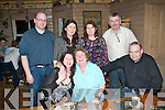 NIGHT OUT: Josephine Sheehan, Clash, Tralee who was treated by her family to a night out in Stokers Lodge, Tralee last Saturday, for Mother's Day, (seated) l-r: Carmel Quinn, Josephine Sheehan and Michael Dwyre. Back l-r: Chris Quinn, Ann Sheehan with Mary and Sandy Egan.