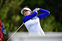 Sydnee Michaels of the USA on the 1st tee during the Final Round at the Kia Classic,Park Hyatt Aviara Resort, Golf Club &amp; Spa, Carlsbad, California, USA. 3/25/18.<br /> Picture: Golffile | Bruce Sherwood<br /> <br /> <br /> All photo usage must carry mandatory copyright credit (&copy; Golffile | Bruce Sherwood)