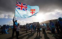 Fans. Kiwis v Fiji, Rugby League World Cup, Wellington Regional Stadium, Wellington, New Zealand. Saturday, 18 November, 2017. Copyright photo: www.photosport.nz MANDATORY BYLINE/CREDIT : Grant Down/SWpix.com/Photosport NZ