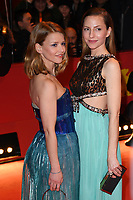 BERLIN, GERMANY - FEBRUARY 7:  Karoline Schuch and Katharina Schuettler attend The Kindness Of Strangers premiere and Opening Night Gala of the 69th Berlinale International Film Festival Berlin at the Berlinale Palace on February 7, 2018 in Berlin, Germany.<br /> CAP/BEL<br /> ©BEL/Capital Pictures