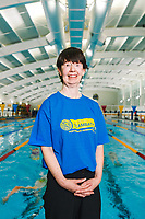 Picture by Rogan Thomson/SWpix.com - 08/12/2017 - Swimming - Team Bath Karen Bowen Feature -  Bath University, Bath, England - Portrait of Team Bath AS volunteer Karen Bowen.