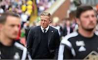 Pictured: Swansea manager Garry Monk<br />