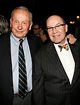(L toR) A.R. Gurney (playwright, &ldquo;Indian Blood&rdquo;), honoree Jack O&rsquo;Brien attending the Primary Stages 23rd Anniversary Gala honoring Jack O'Brien and Daryl Roth at a Private Club in New York City.<br />