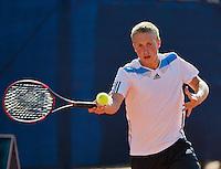 September 03, 2014,Netherlands, Alphen aan den Rijn, TEAN International, Jelle Sels (NED)<br /> Photo: Tennisimages/Henk Koster