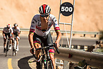 Rui Costa (POR) UAE Team Emirates climbs towards the finish of Stage 5 of the 10th Tour of Oman 2019, running 152km from Samayil to Jabal Al Akhdhar (Green Mountain), Oman. 20th February 2019.<br /> Picture: ASO/K&aring;re Dehlie Thorstad | Cyclefile<br /> All photos usage must carry mandatory copyright credit (&copy; Cyclefile | ASO/K&aring;re Dehlie Thorstad)