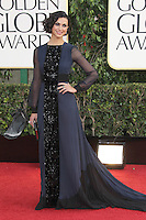 BEVERLY HILLS, CA - JANUARY 13: Morena Baccarin at the 70th Annual Golden Globe Awards at the Beverly Hills Hilton Hotel in Beverly Hills, California. January 13, 2013. Credit: mpi29/MediaPunch Inc. /NortePhoto