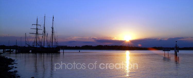 Sunset in Port Macquarie.