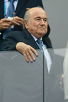 Sepp Blatter the President of FIFA