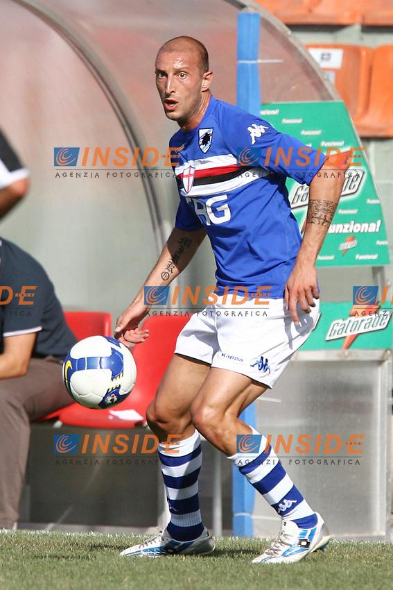 Pieri Sampdoria<br /> La Spezia 16/08/2008 Calcio <br /> Siena Sampdoria <br /> Foto Insidefoto