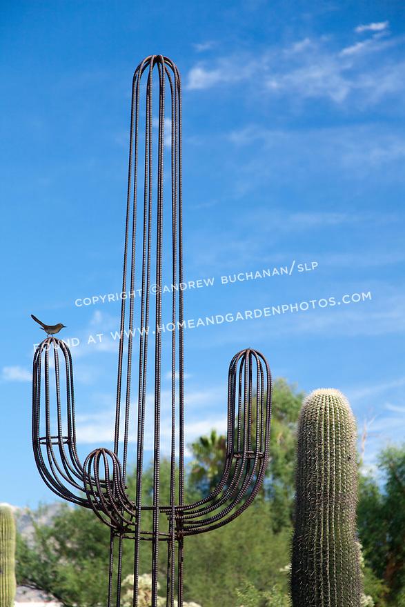 Df027423 Saguaro Cactus Sculpture Stock Photo Jpg