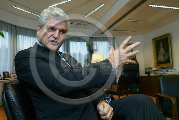 BRUSSELS - BELGIUM - 20 DECEMBER 2005 -- Dr.iur Gregor WOSCHNAGG, The Austrian Ambassador to the EU.  PHOTO: ERIK LUNTANG / EUP-IMAGES