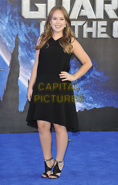 LONDON, ENGLAND - JULY 24: Tanya Burr attends the 'Guardians Of The Galaxy' UK film premiere, The Empire cinema, Leicester Square, on Thursday July 24, 2014 in London, England, UK. <br /> CAP/CAN<br /> &copy;Can Nguyen/Capital Pictures