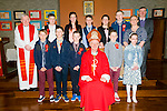 Ballyduff Central NS: Pupils from Ballyduff Central NS who were confirmed in Ballyduff Church by Bishop Ray Browne on Wednesday 25th March. Front row left to right are Dylan Moriarty, Gerard Browne, Aidan O'Connor, Bishop Ray Browne, Kyle O' Connor and Chloe Houlihan O' Connor.<br /> Back row left to right are Fr. Brendan Walsh, Dylan Walsh, Shauna Griffin, Tadhg Dineen, Louise Joy, Joseph Murphy, Martina Rochford(class teacher) and Pat Walsh (principal).