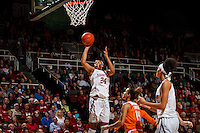 Stanford, CA - Saturday December 16, 2015: Erin MCall during the Stanford vs Tennessee basketball game Wednesday night at Maples.<br /> <br /> The Cardinal defeated the Volunteers 69-55.<br /> .