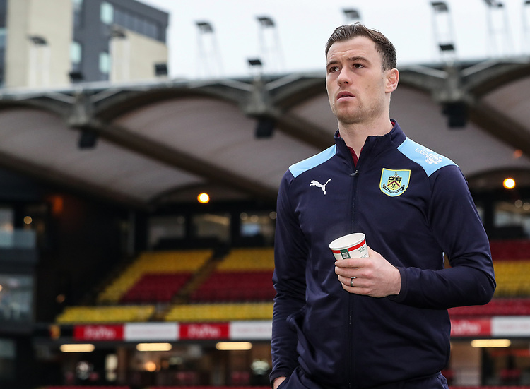 Burnley's Ashley Barnes pictured before the match<br /> <br /> Photographer Andrew Kearns/CameraSport<br /> <br /> The Premier League - Watford v Burnley - Saturday 19 January 2019 - Vicarage Road - Watford<br /> <br /> World Copyright &copy; 2019 CameraSport. All rights reserved. 43 Linden Ave. Countesthorpe. Leicester. England. LE8 5PG - Tel: +44 (0) 116 277 4147 - admin@camerasport.com - www.camerasport.com