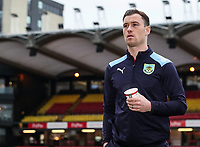 Burnley's Ashley Barnes pictured before the match<br /> <br /> Photographer Andrew Kearns/CameraSport<br /> <br /> The Premier League - Watford v Burnley - Saturday 19 January 2019 - Vicarage Road - Watford<br /> <br /> World Copyright © 2019 CameraSport. All rights reserved. 43 Linden Ave. Countesthorpe. Leicester. England. LE8 5PG - Tel: +44 (0) 116 277 4147 - admin@camerasport.com - www.camerasport.com