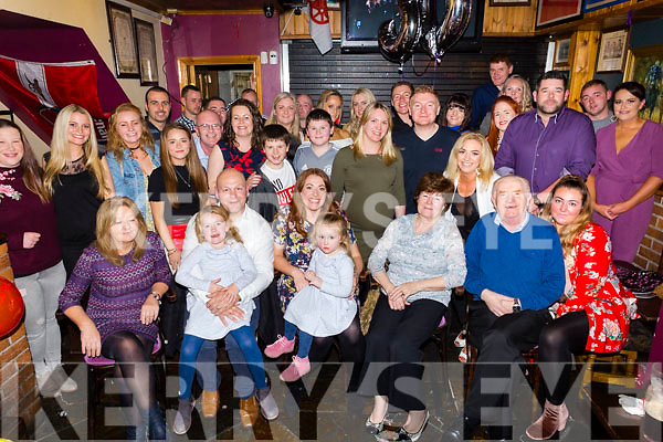 Grace Hobbert, Spa Road Tralee, celebrates her 30th birthday with family and friends at the Greyhound Bar on Saturday