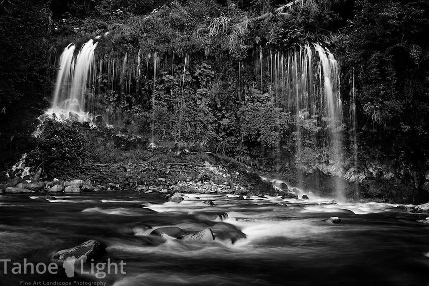 Mossbrae falls in Dunsmuir California.