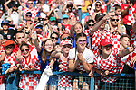 08.06.2019., stadium Gradski vrt, Osijek - UEFA Euro 2020 Qualifying, Group E, Croatia vs. Wales. Fans<br /> <br /> Foto © nordphoto / Goran Stanzl/PIXSELL